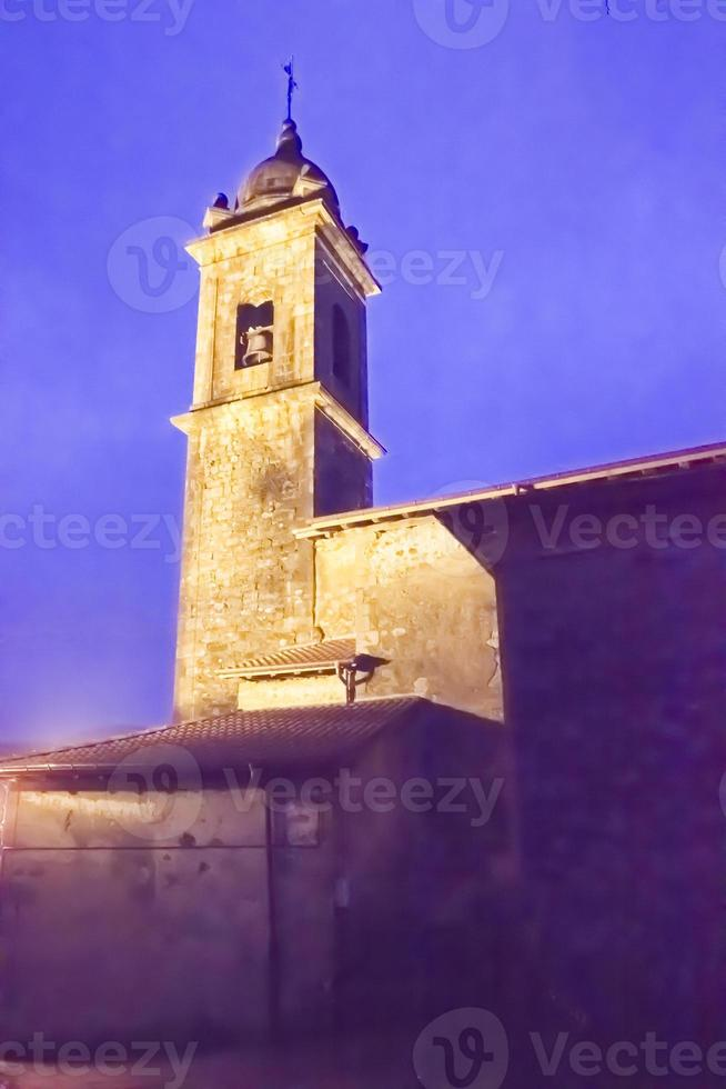igreja, efeito quase pintado foto