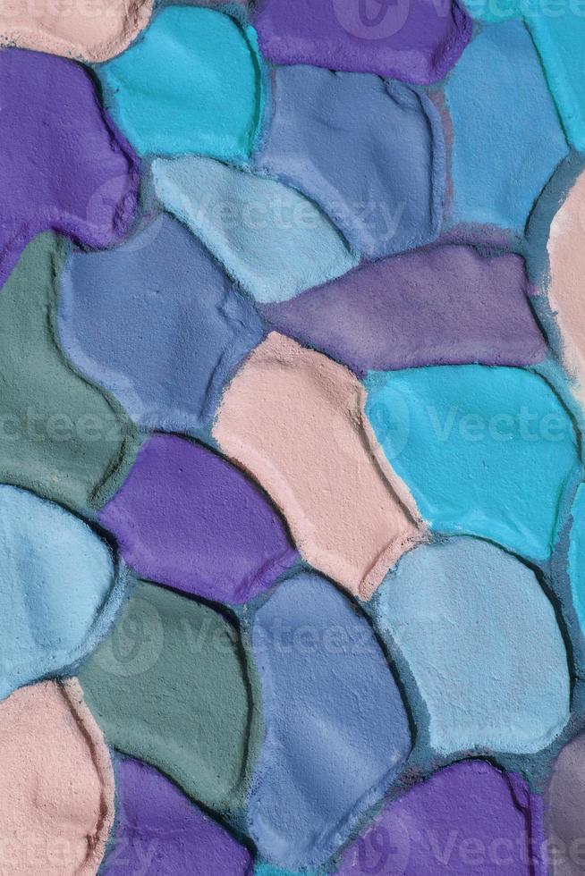 fundo de gesso ondulado colorido decorativo, xxxl foto