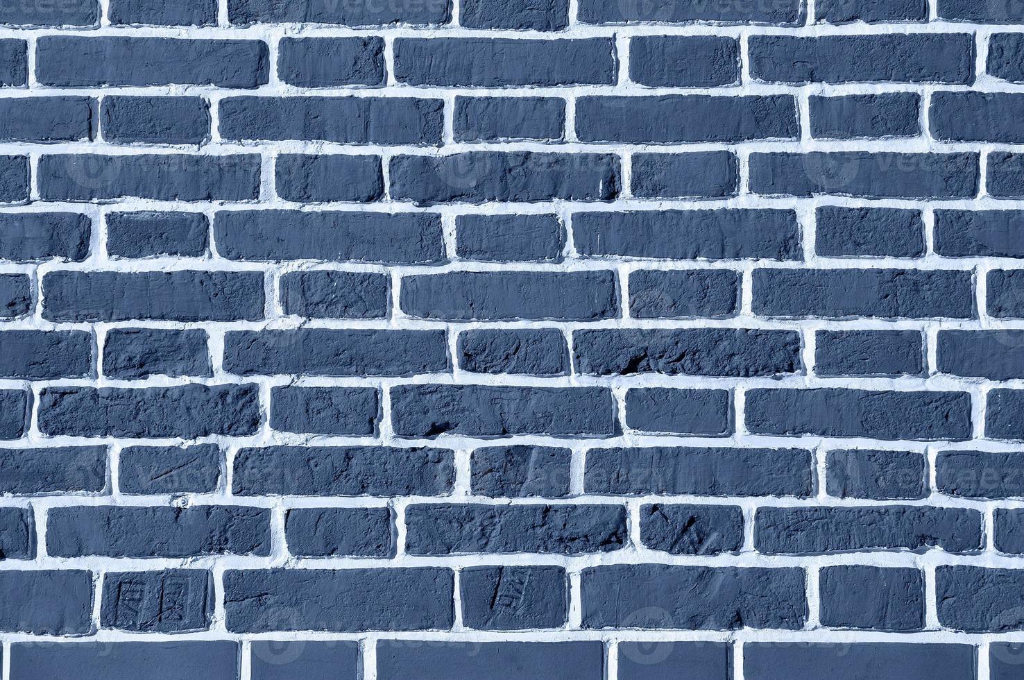 tijolos azuis foto