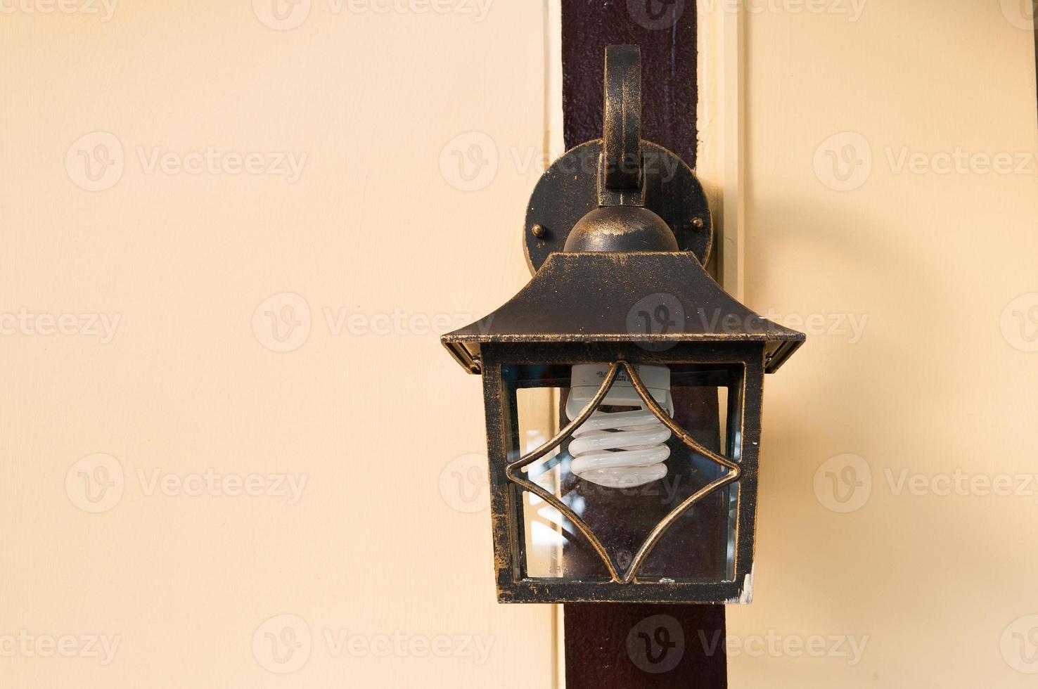 lâmpada de parede foto