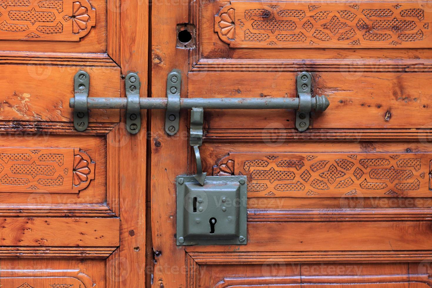 porta com fechadura foto