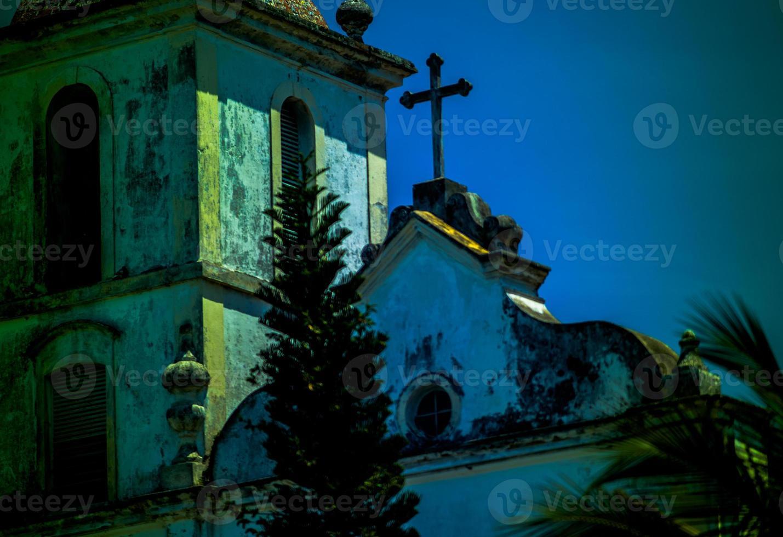detalhe da fachada da igreja de são francisco. foto