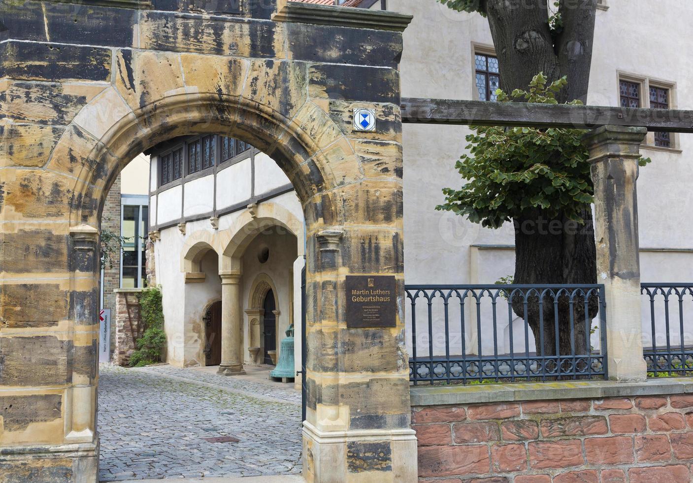 museu local de nascimento de martin luther foto