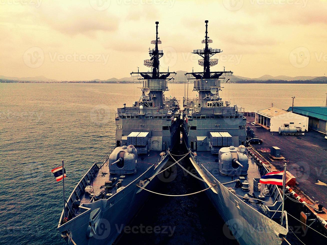 navio de guerra foto