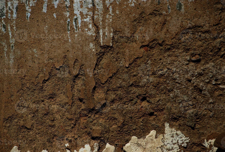 rachadura na parede gessada foto