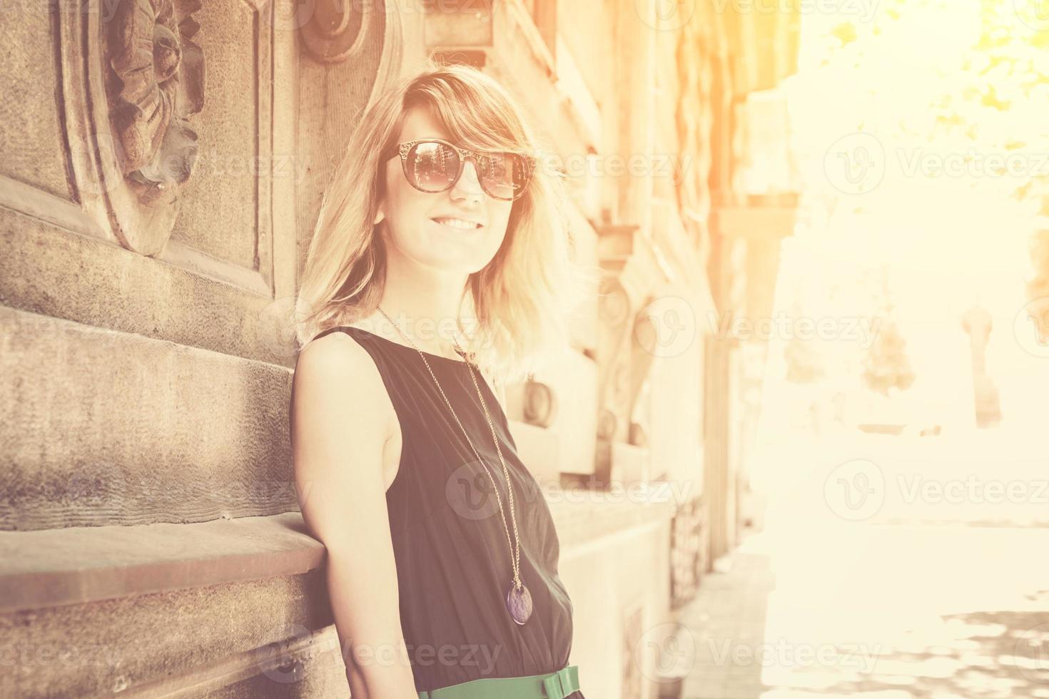 garota urbana foto