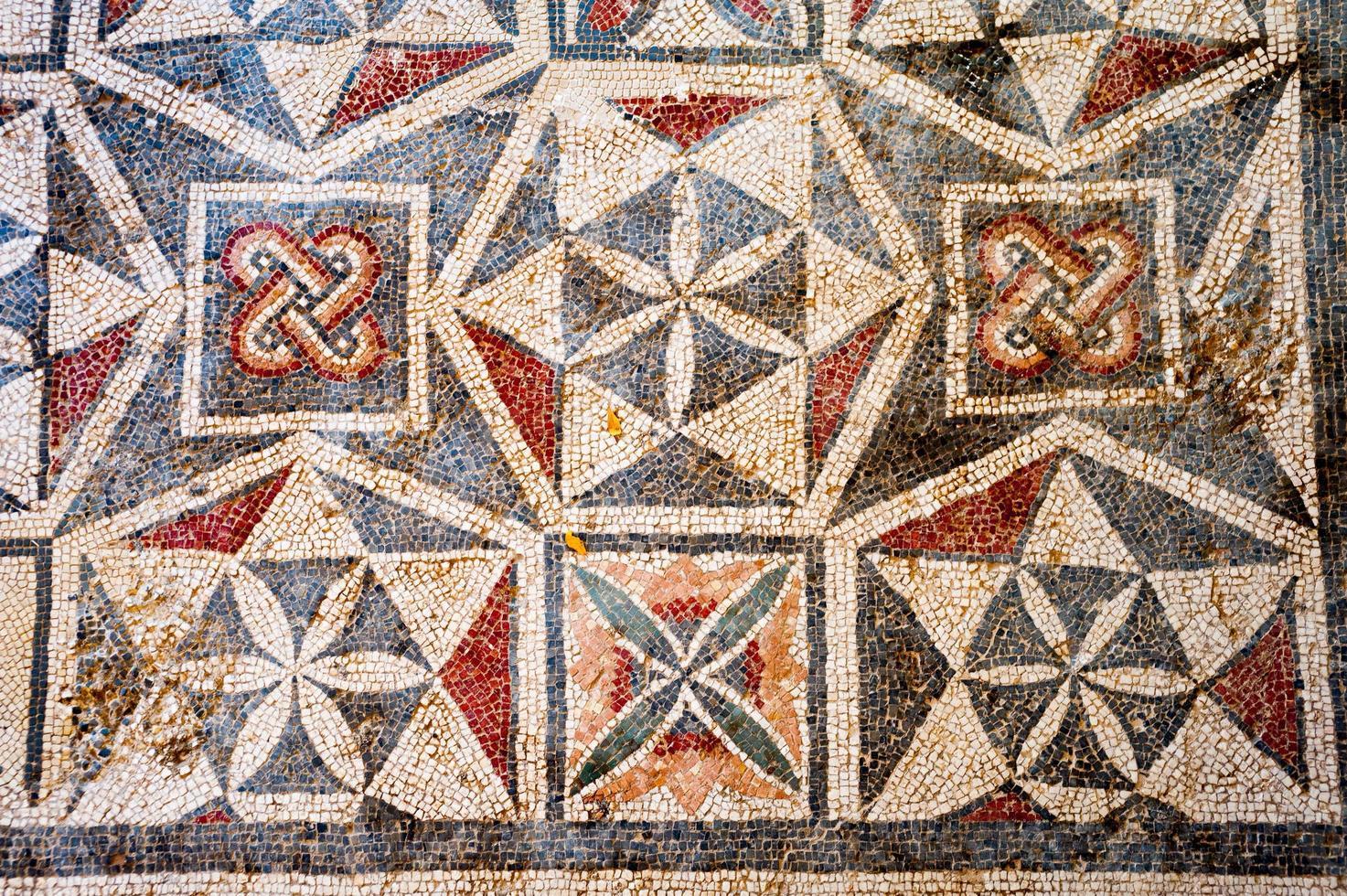 mosaicos romanos foto
