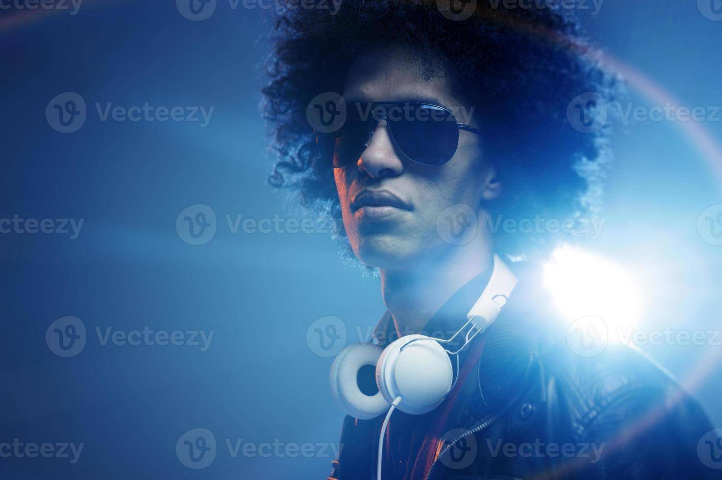 DJ confiante foto