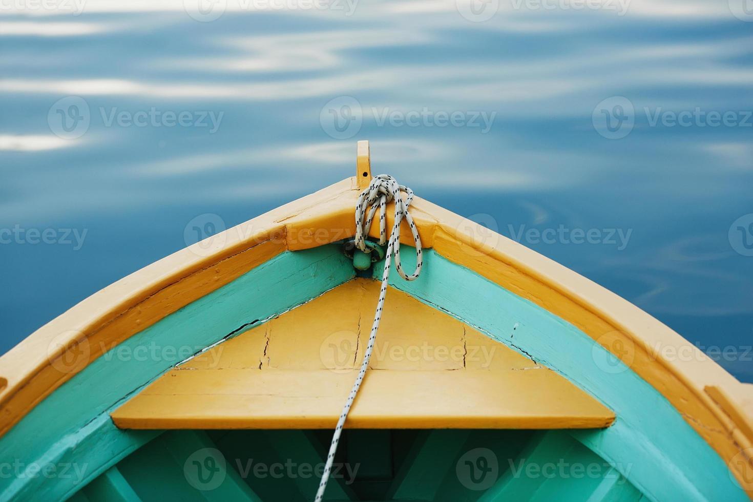 barco arco com uma corda close-up. foto