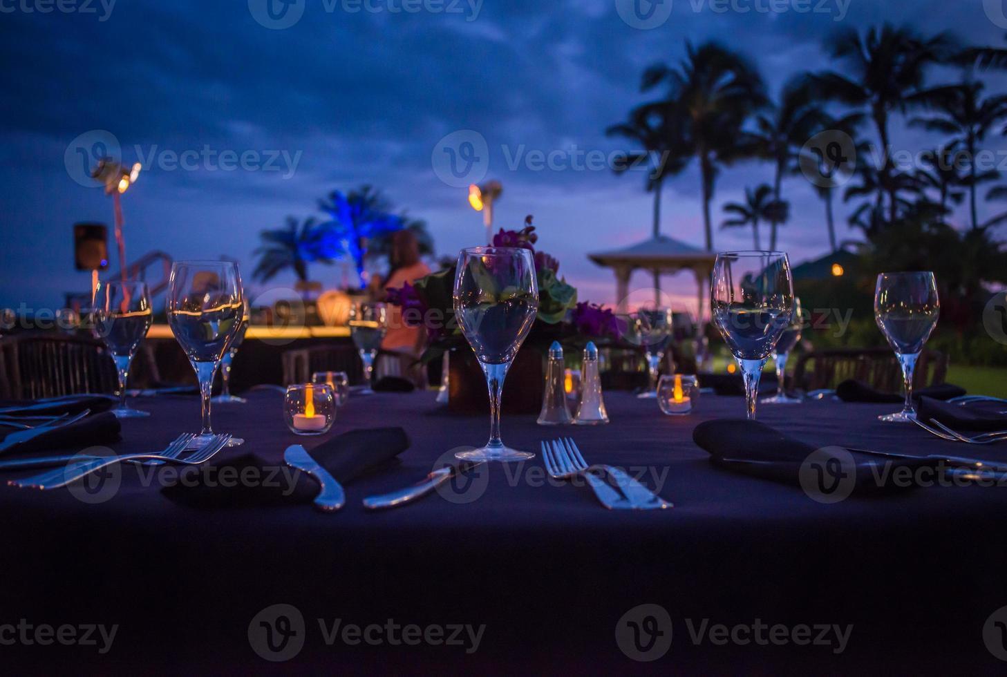 jantar ao luar foto