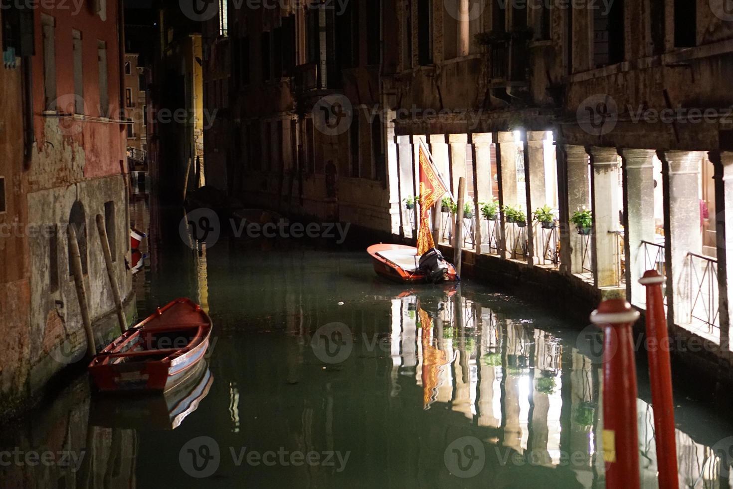 os canais de veneza foto