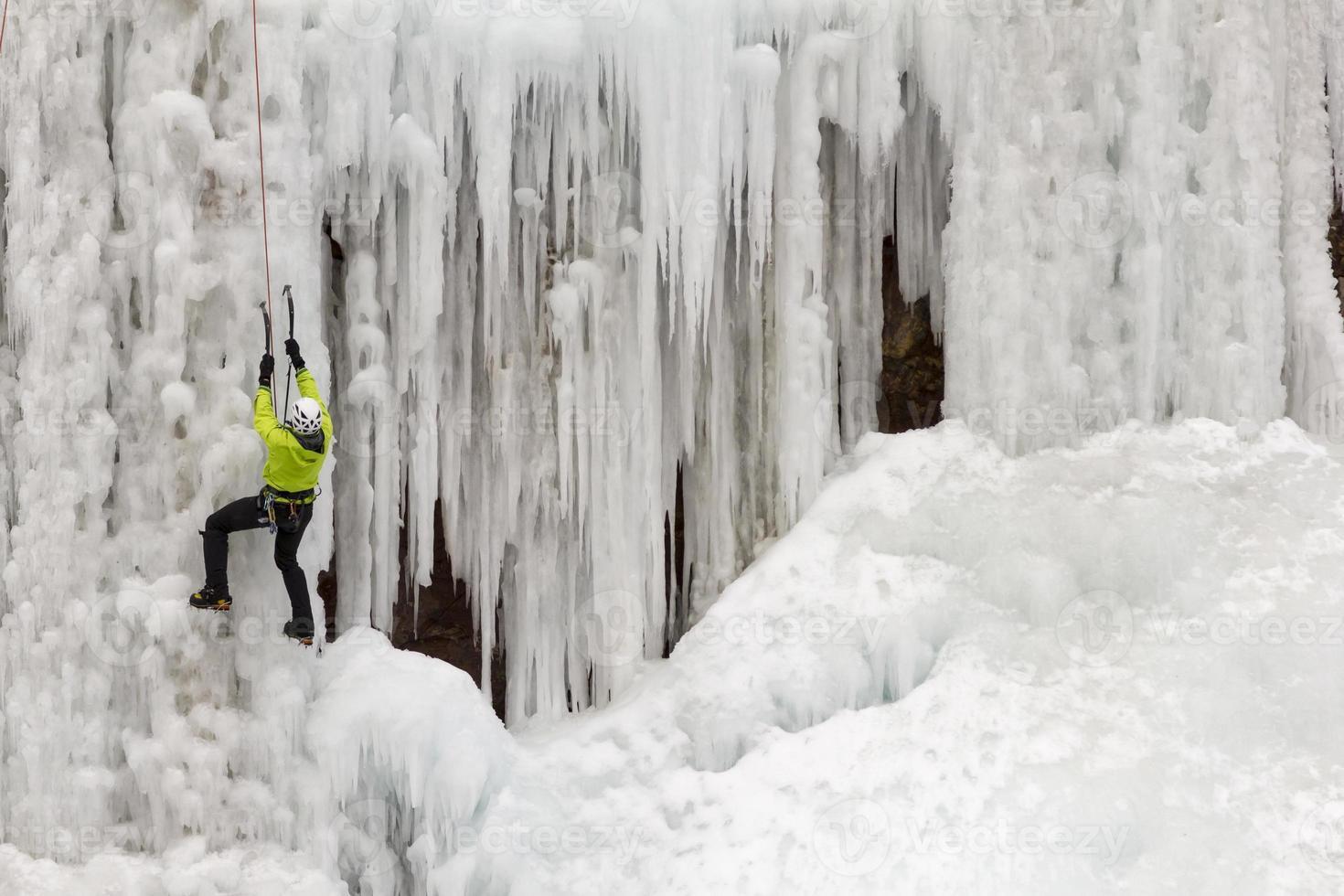 escalador de gelo foto