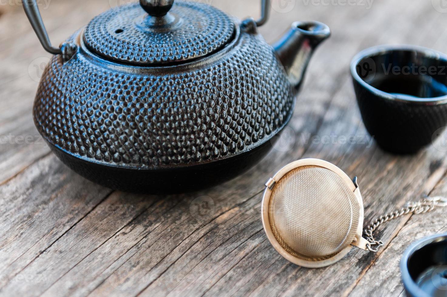 chá chinês foto