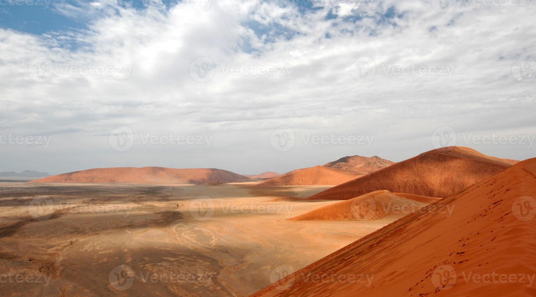 sossusvlei, namíbia, áfrica foto