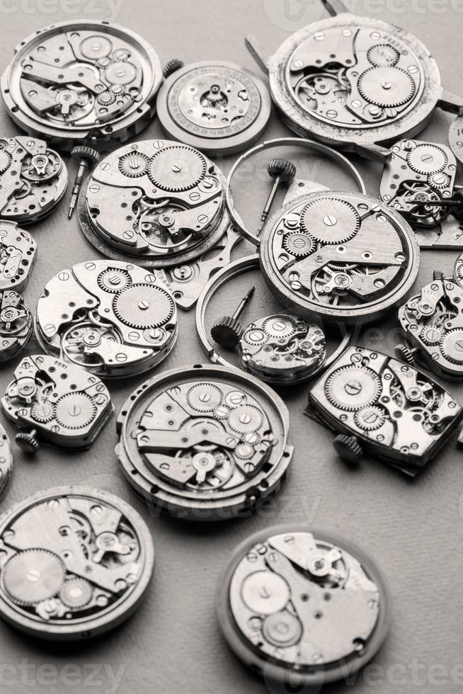 tempo e mecanismos de bloqueio. foto