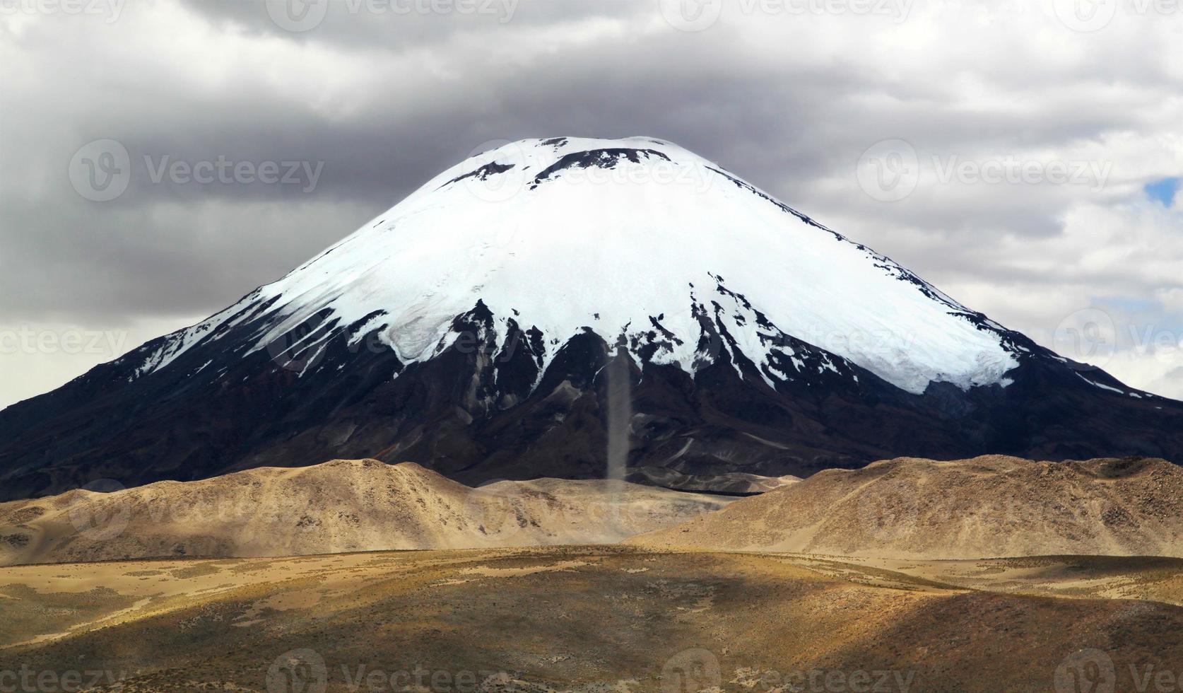 parque nacional lauca, chile, américa do sul foto