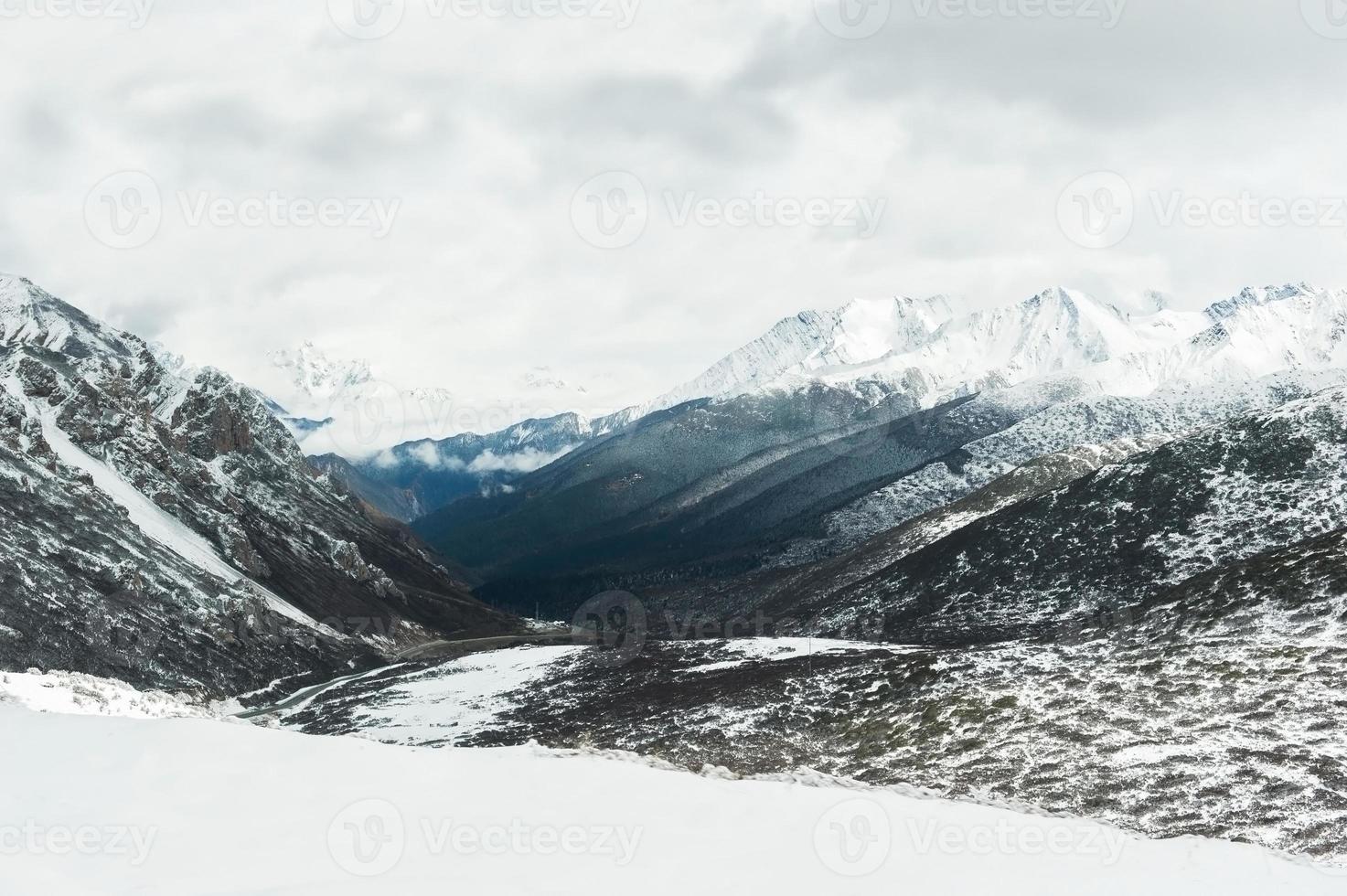 estradas de montanha foto