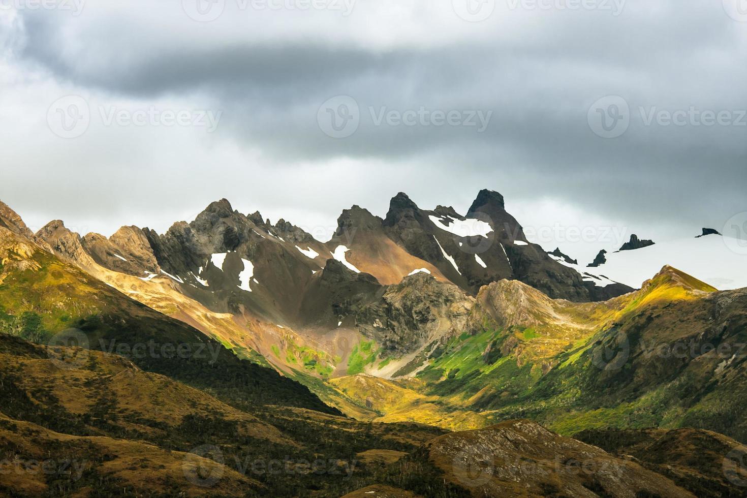 belas montanhas foto