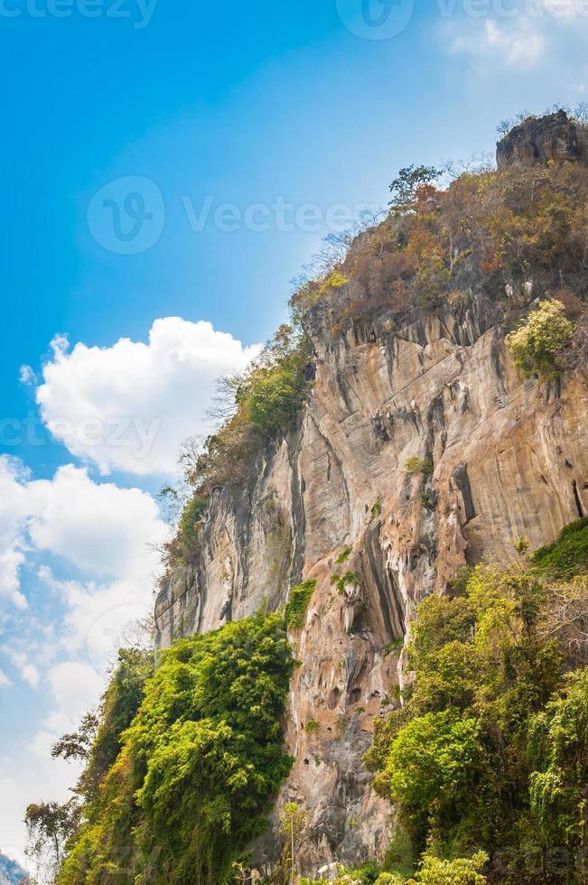 Clift da montanha foto