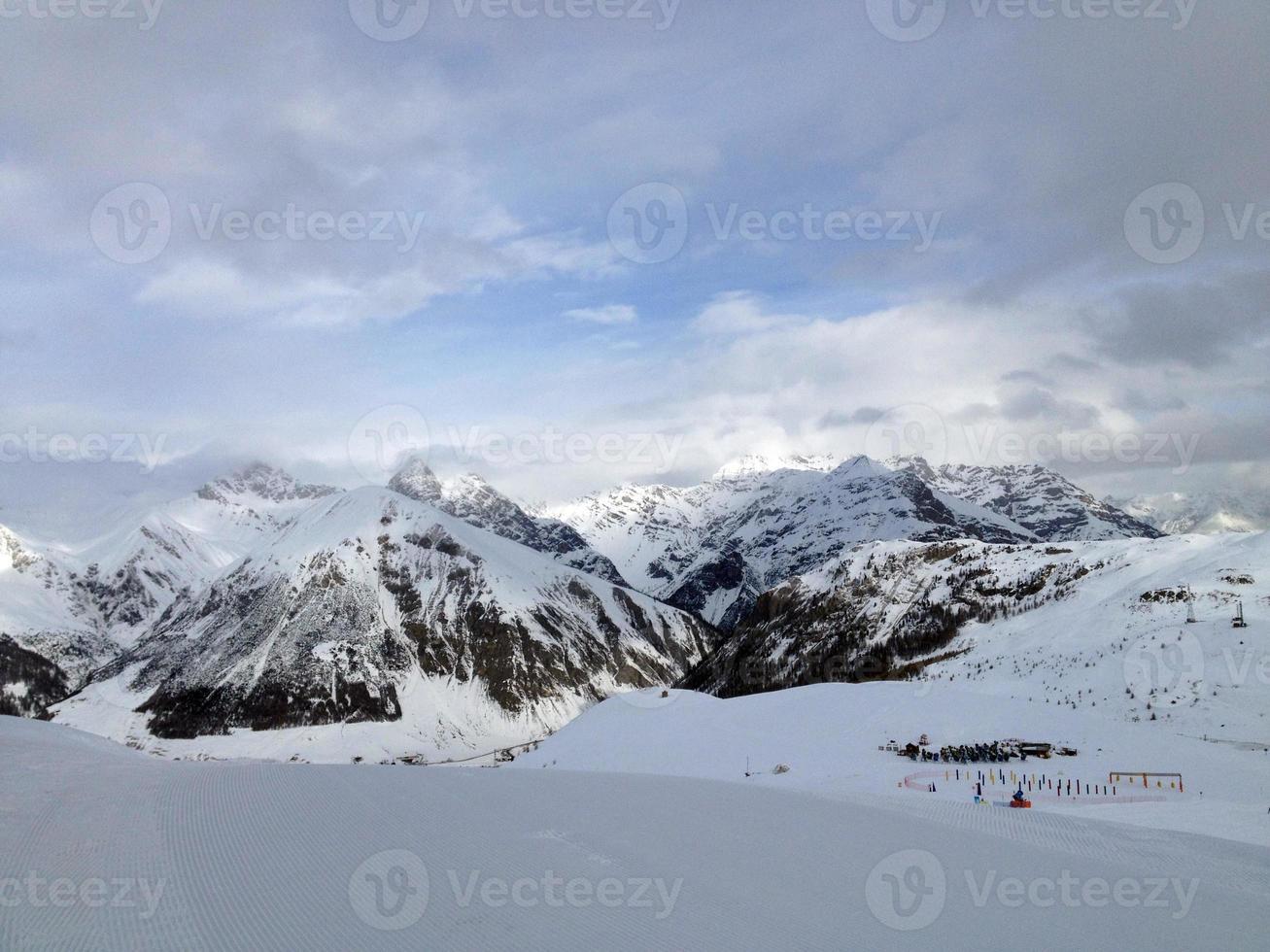 as montanhas dos Alpes foto