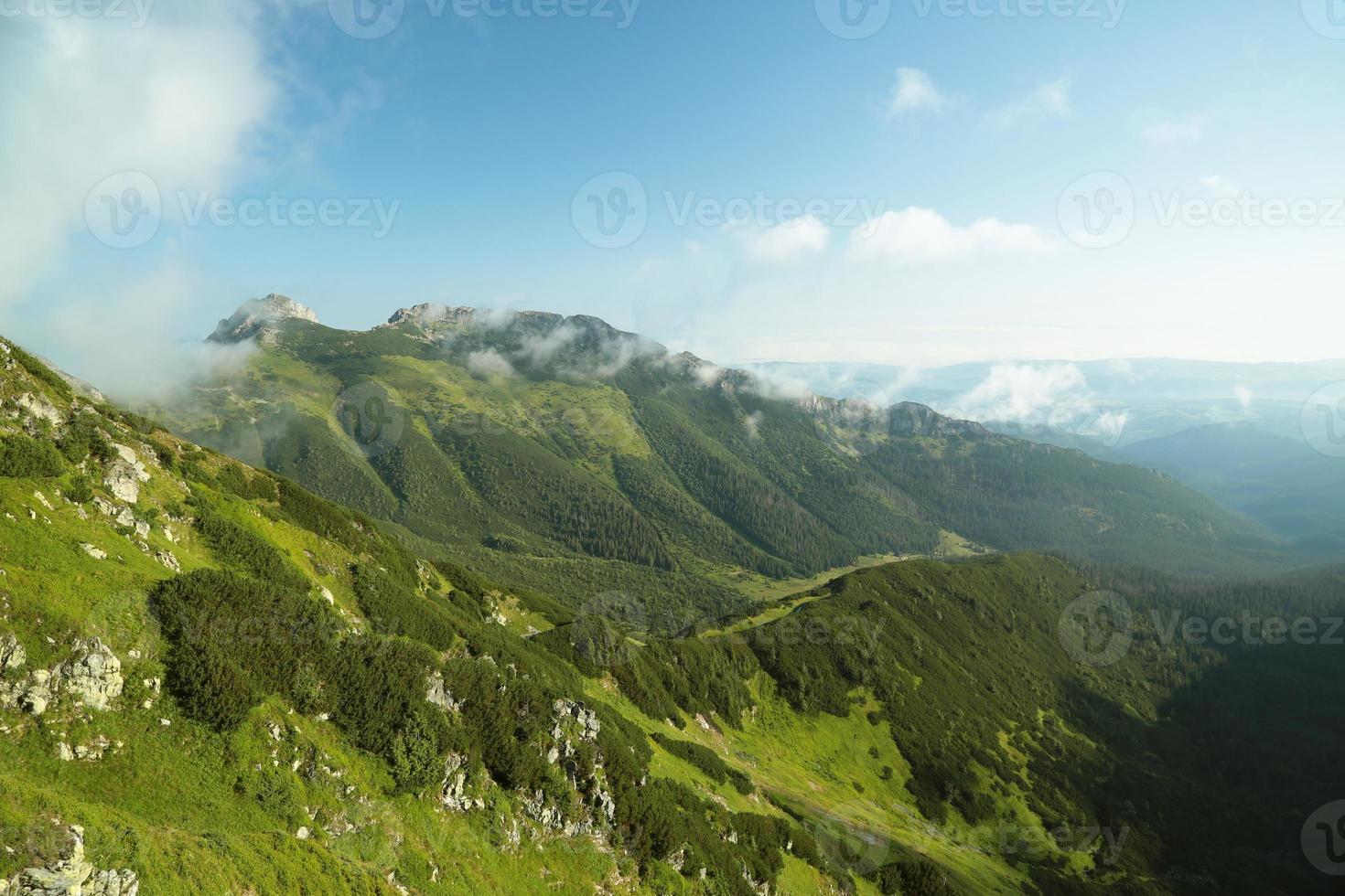 Giewont nas Tatras Polonesas foto