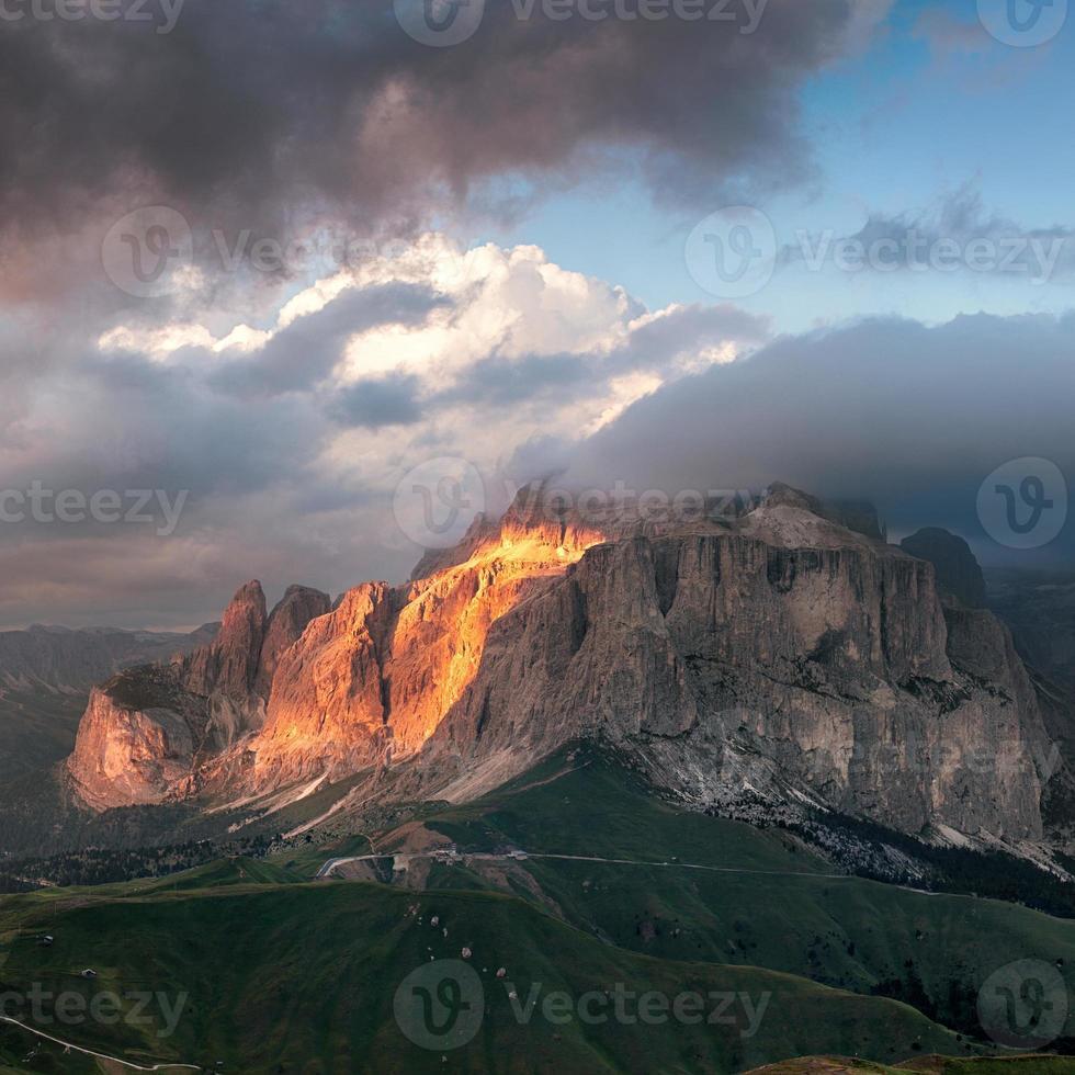 Sella Group Mountain foto
