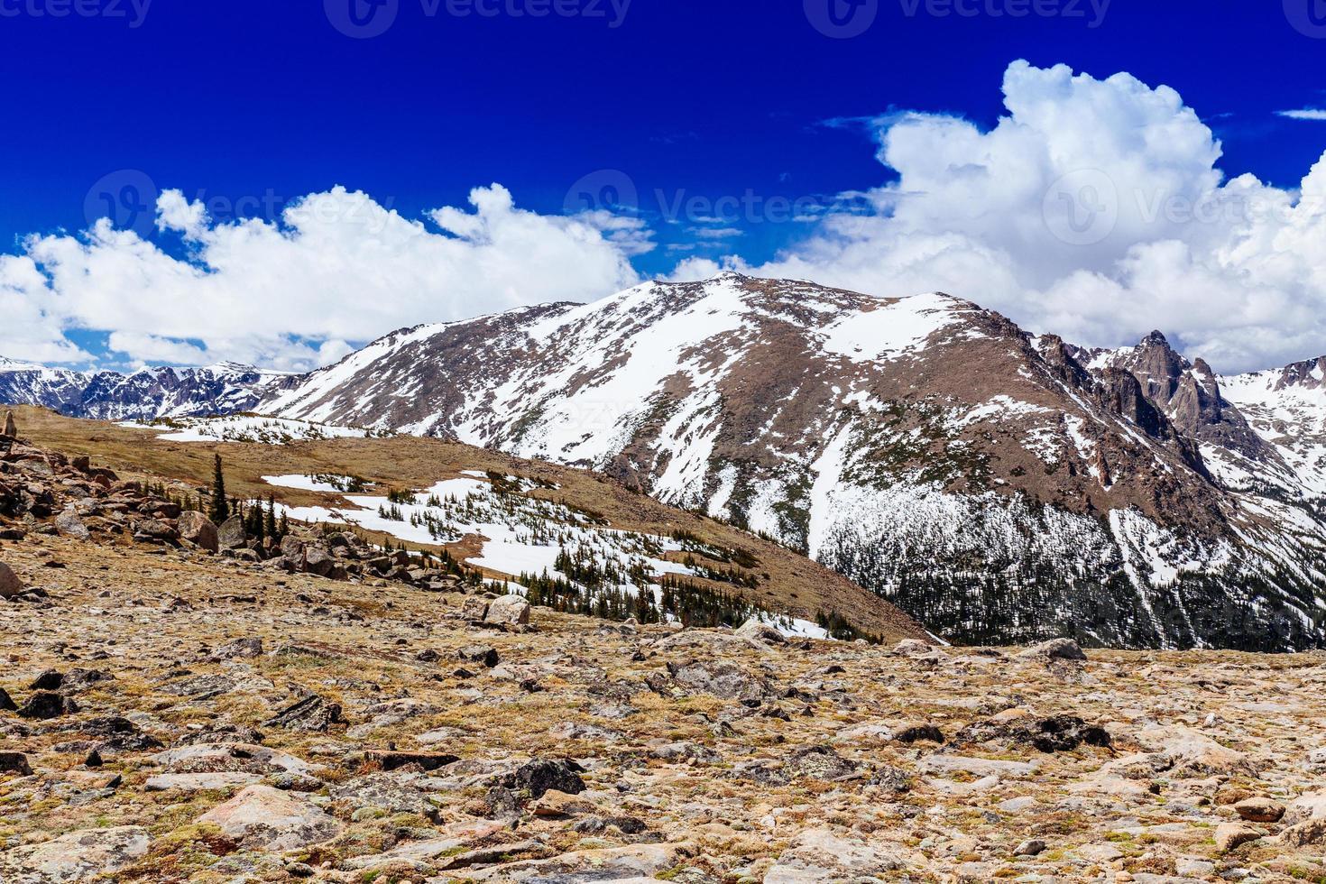 parque nacional da montanha rochosa foto