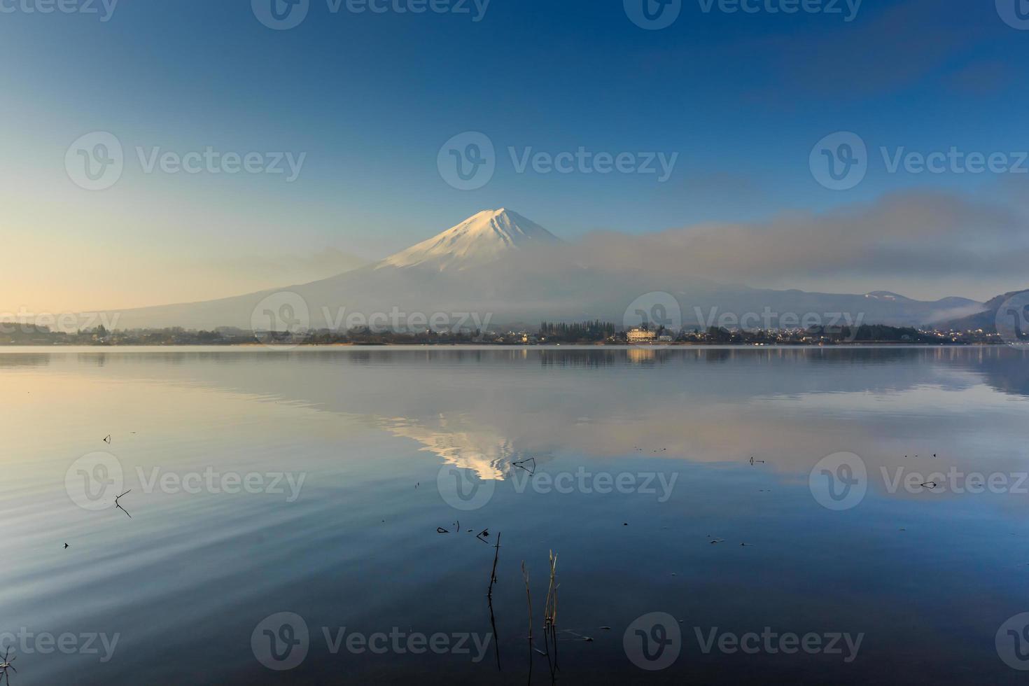 montanha fuji, kawaguchiko, japão foto