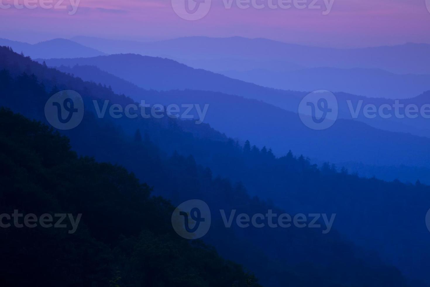 amanhecer na fumaça foto