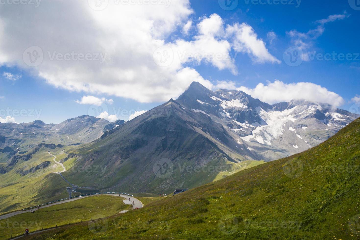 großglockner no parque nacional Hohe Tauern foto