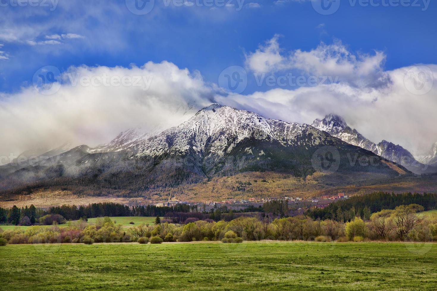 montanhas tatra, eslováquia foto