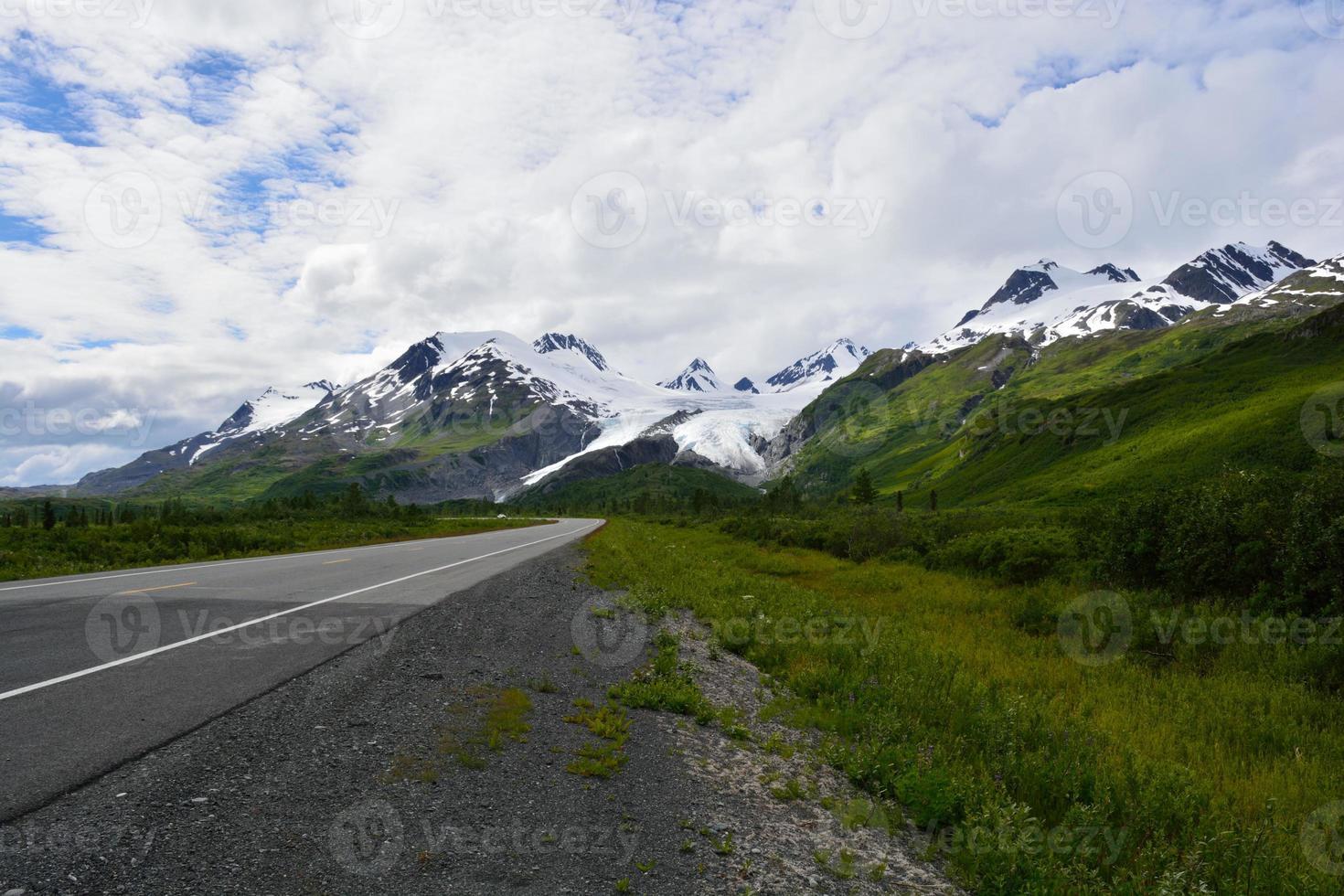 o deserto do Alasca em seu melhor foto