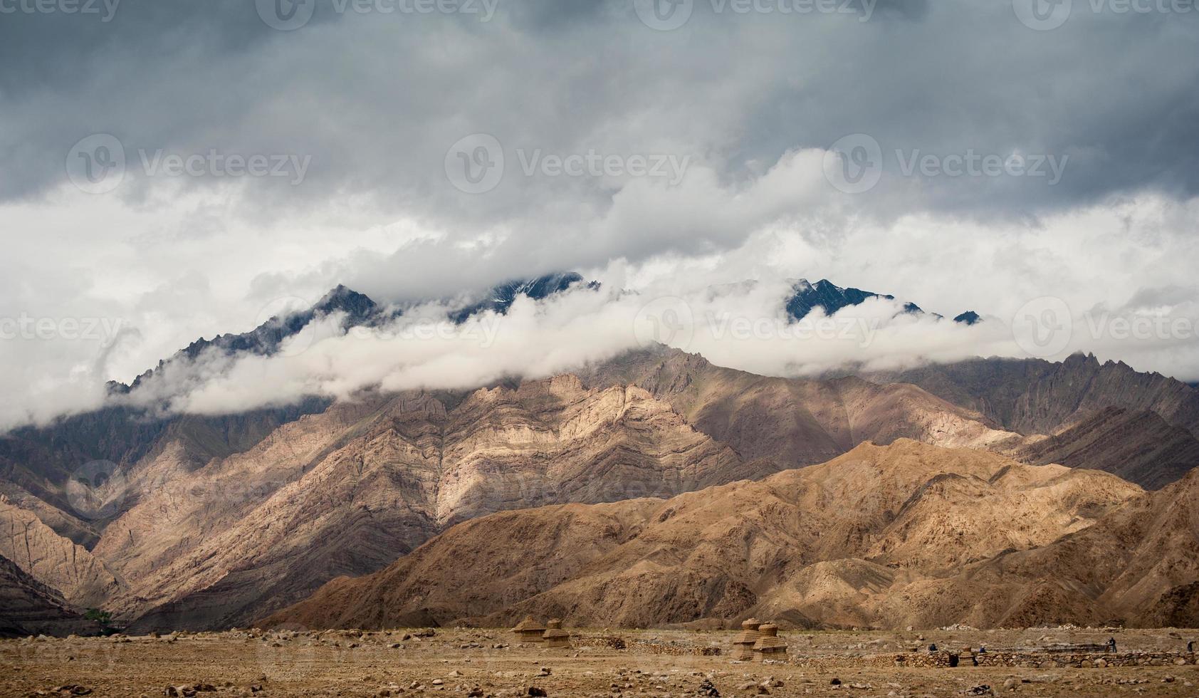 grande montanha na Índia foto