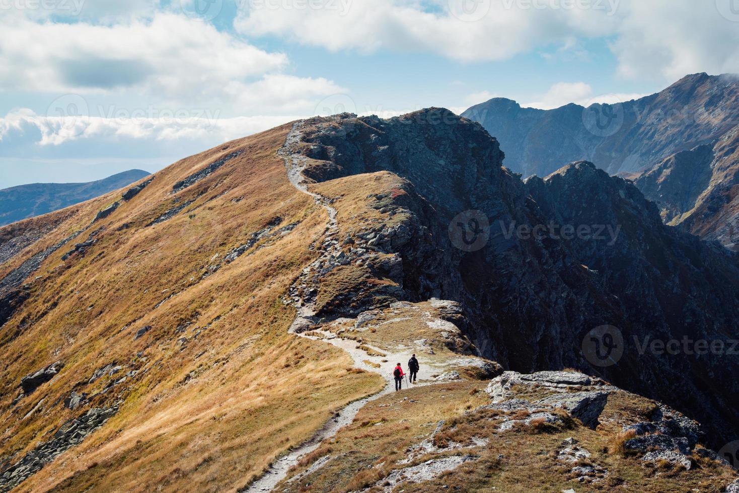 pico placlive nas montanhas tatra foto