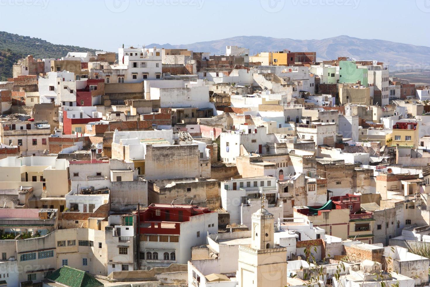 moulay idriss, marrocos foto