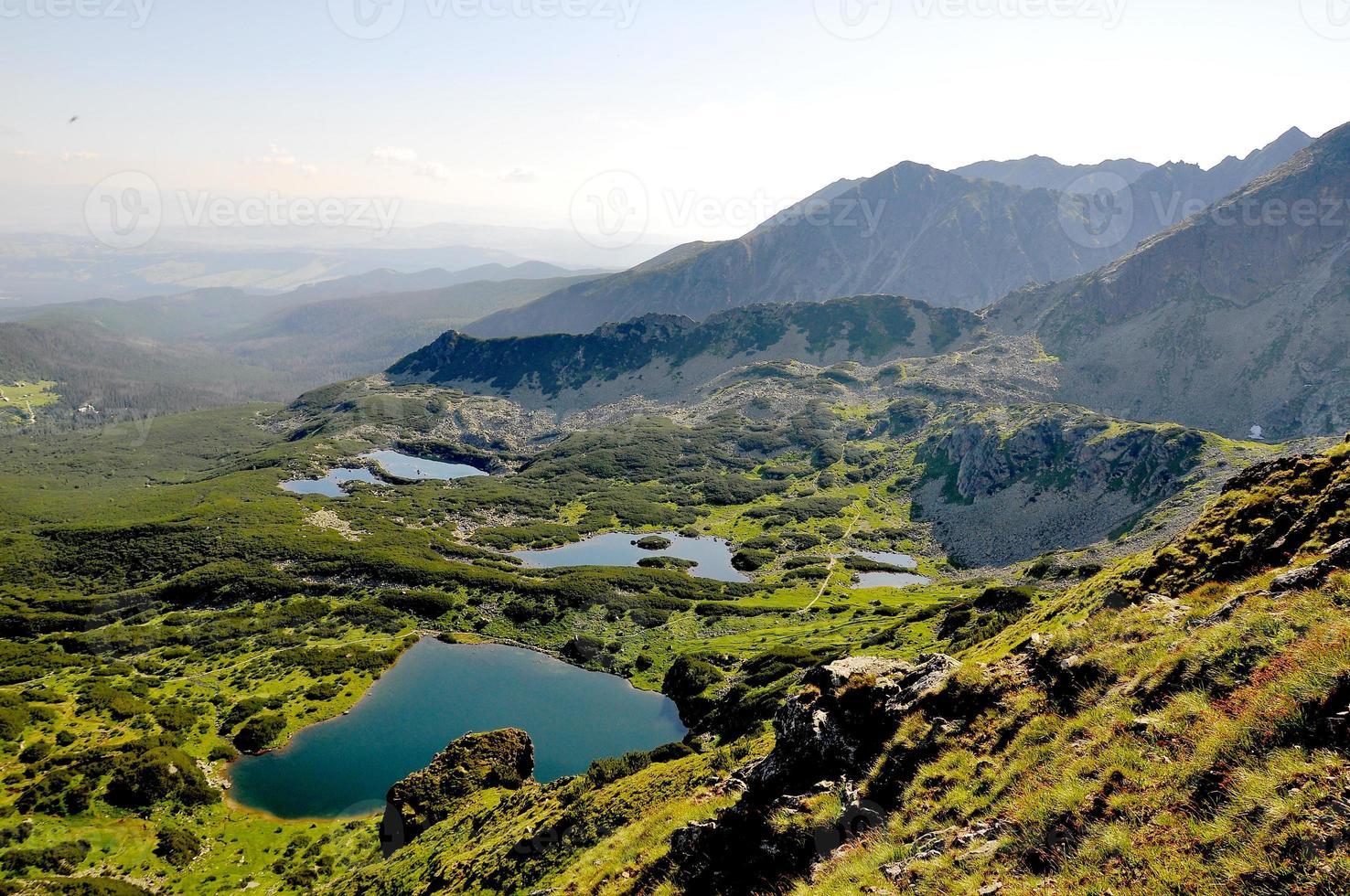 montanhas maravilhosas da europa central foto