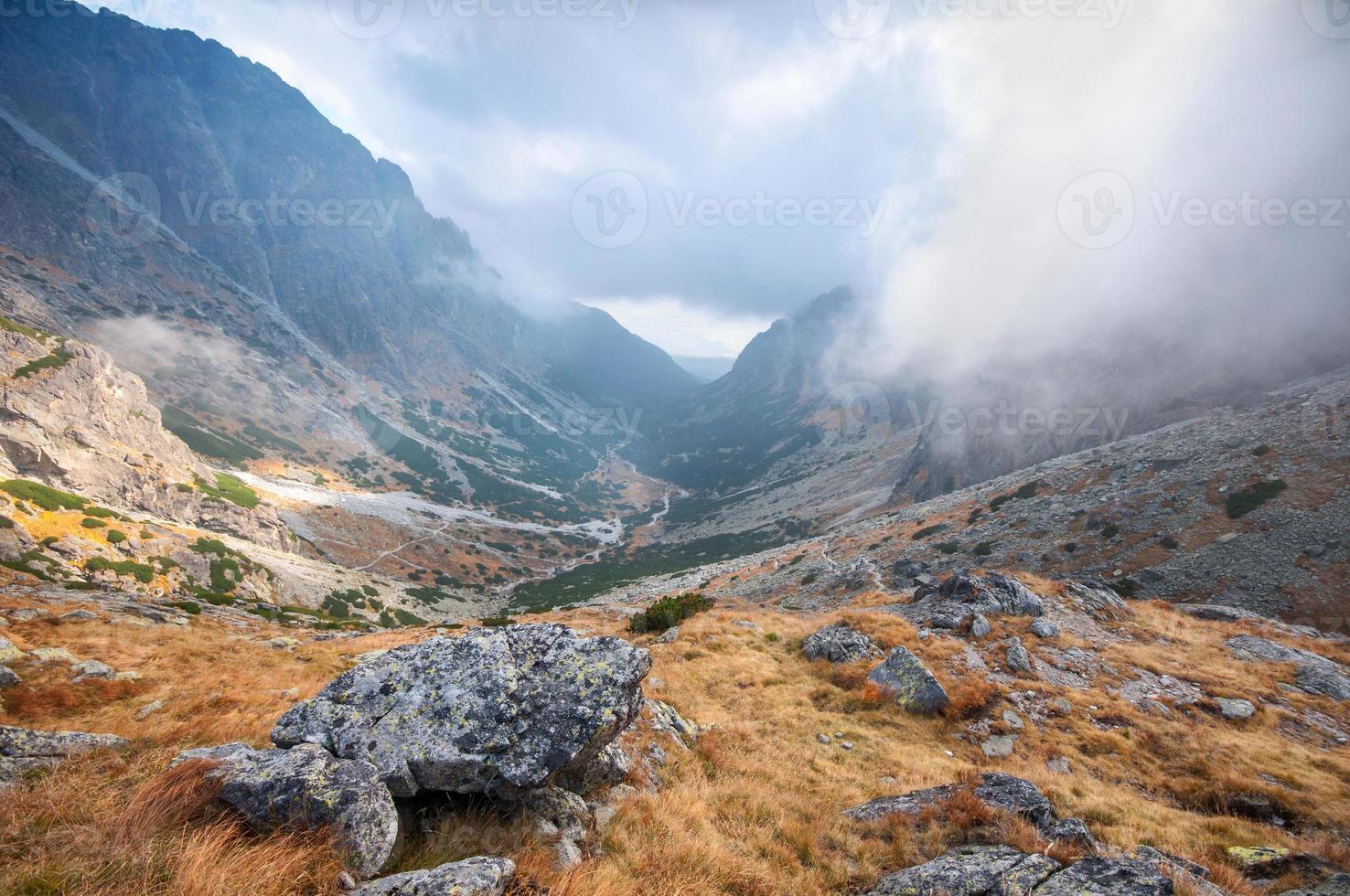 pequeno vale frio (mala studena dolina) foto