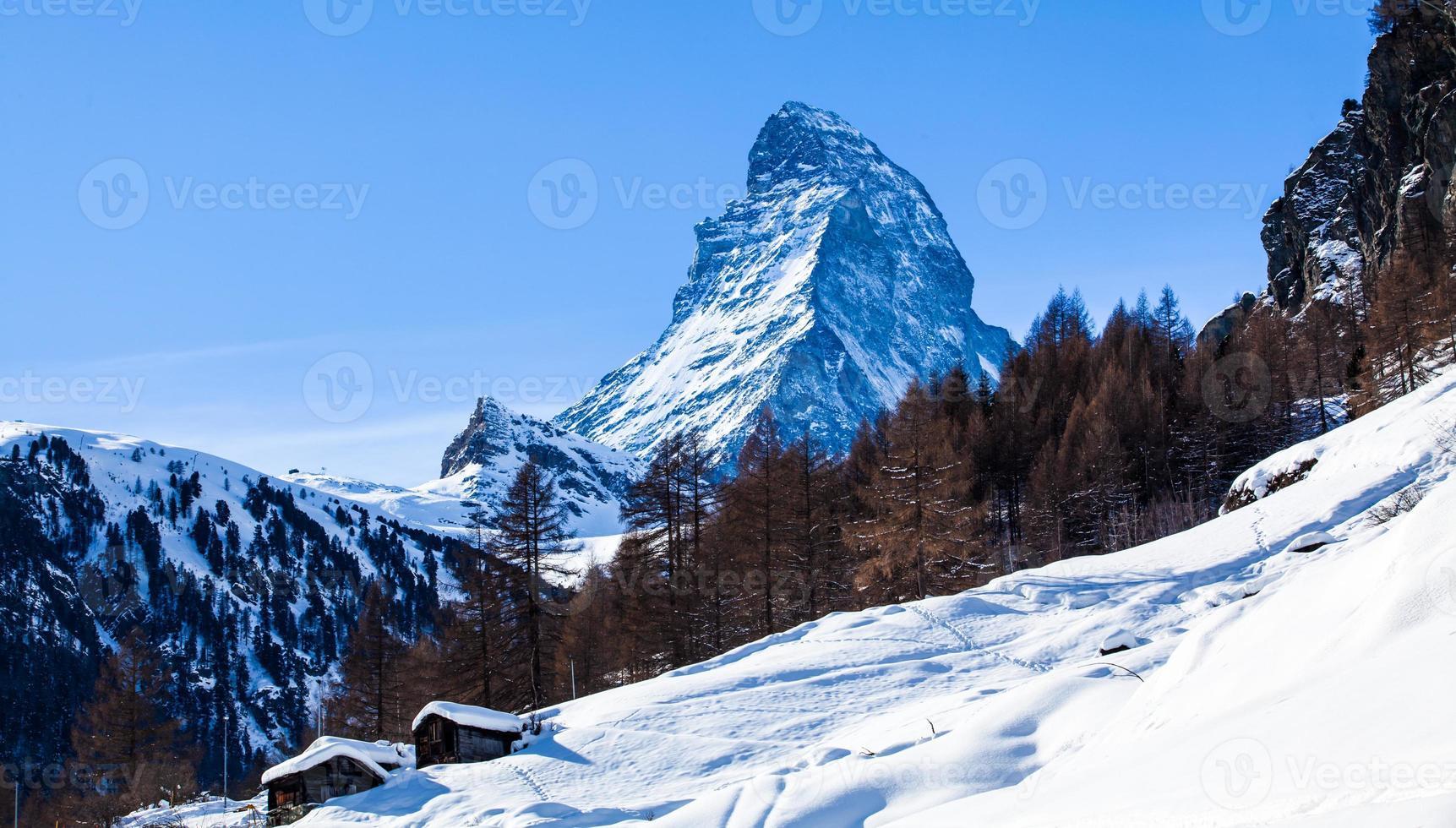 matterhorn, alpes suíços foto