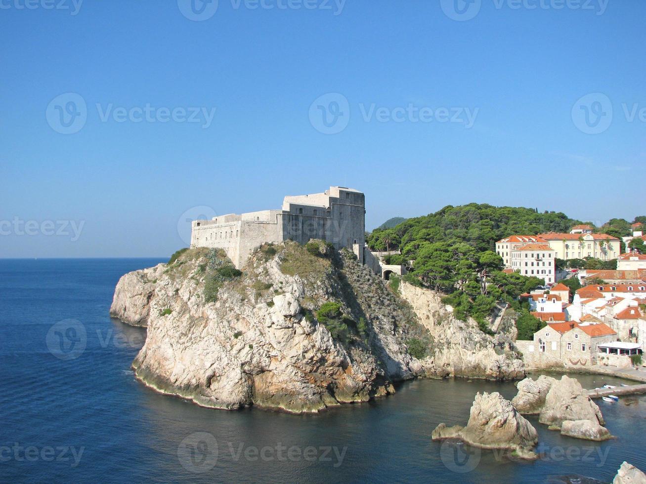 castelo lovrijenac, dubrovnik foto
