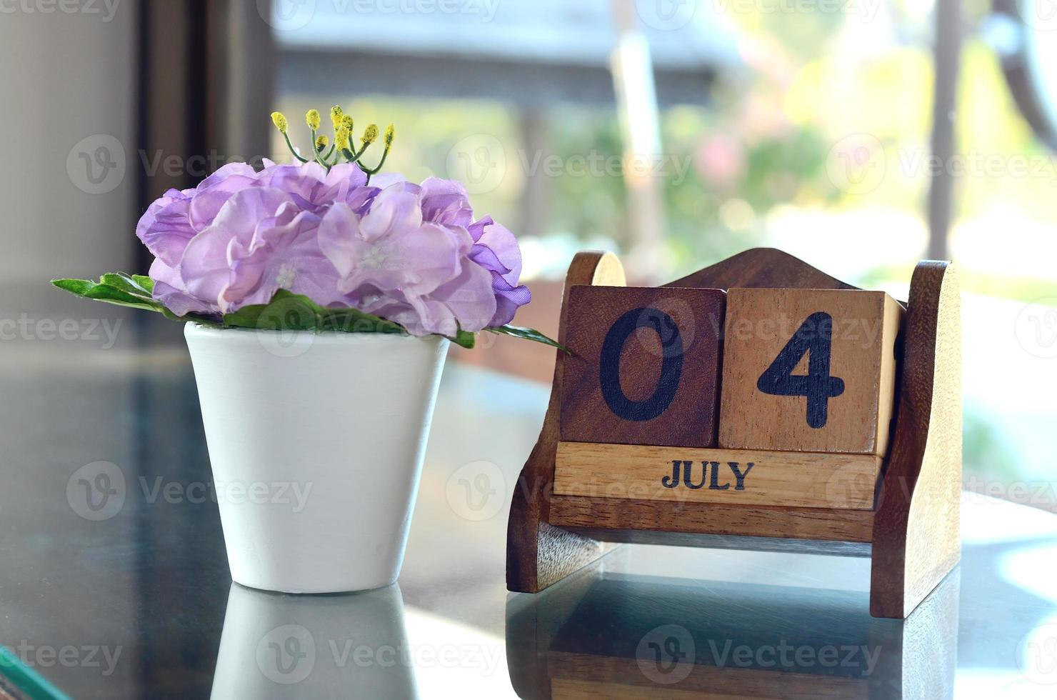 feliz 4 de julho foto