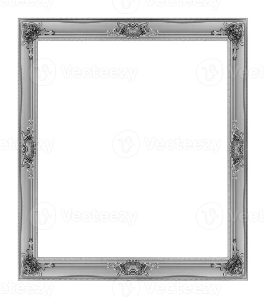 quadro isolado no fundo branco foto