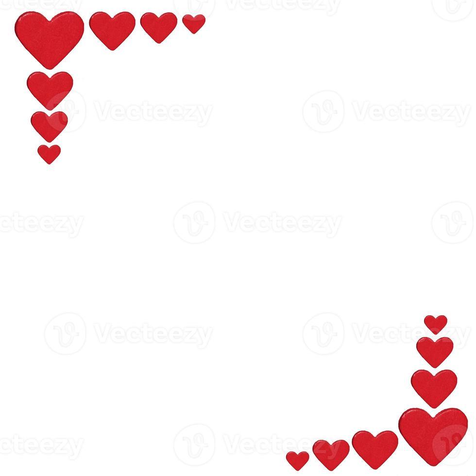 coração moldura foto