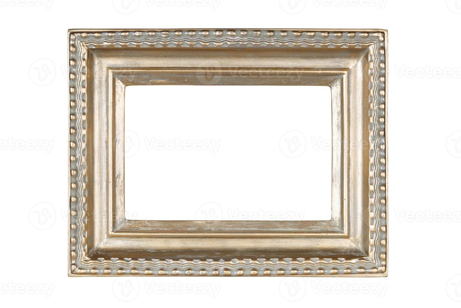 moldura prata-ouro foto