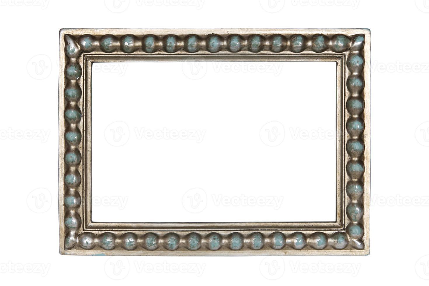 moldura de prata foto