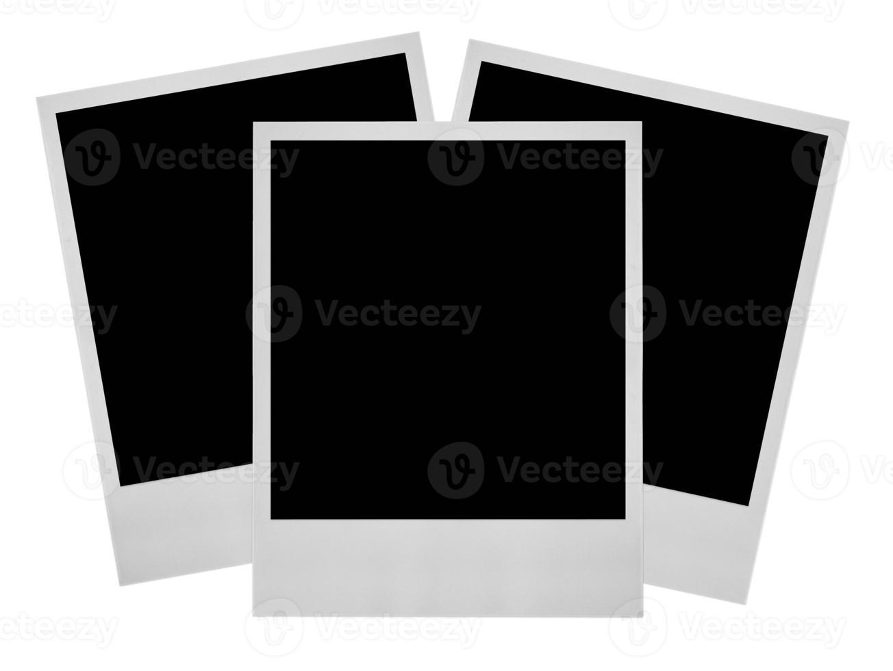 três molduras de fotos