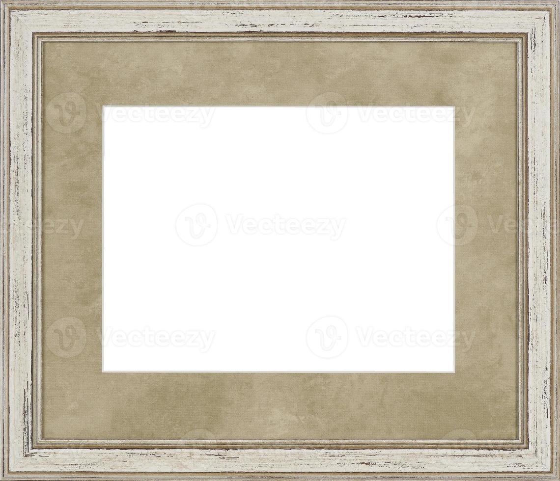 moldura branca foto