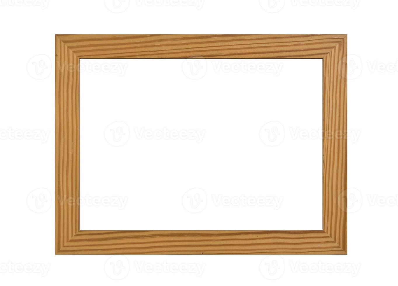 moldura de madeira foto