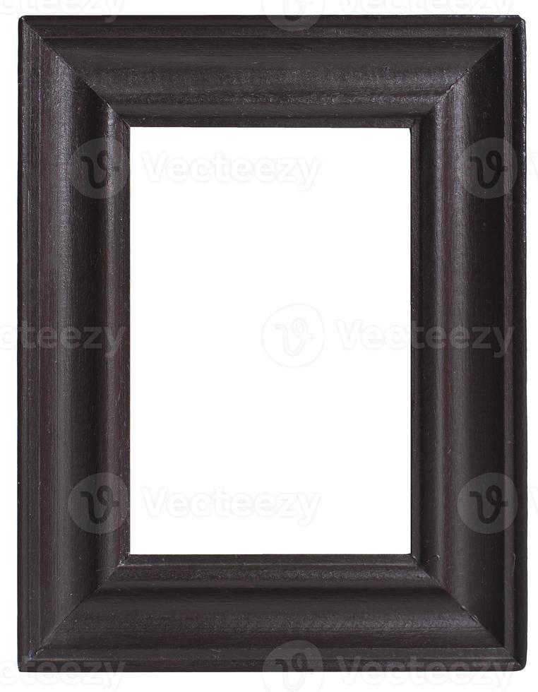 moldura de madeira marrom velha foto