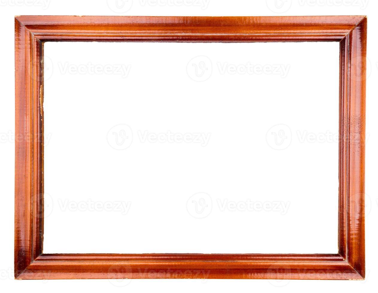moldura de madeira velha foto