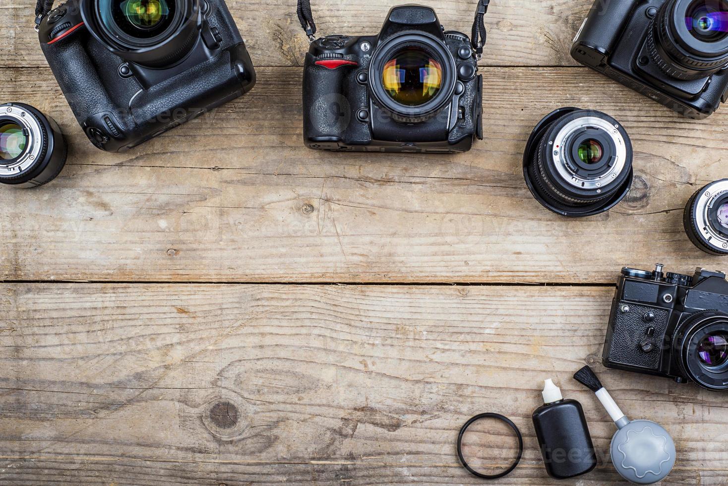 câmeras velhas foto